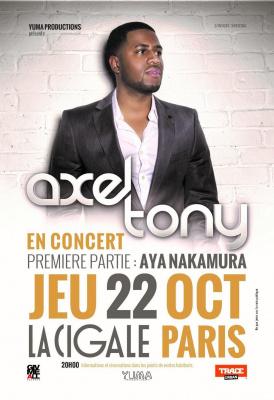 Axel Tony en concert à La Cigale