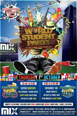 WORLD STUDENT PARTY - Représente ton pays