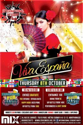 INTERNATIONAL STUDENT PARTY - Viva España