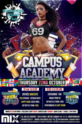 INTERNATIONAL STUDENT PARTY - Campus Academy