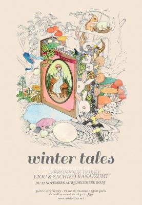 Exposition Winter Tales à la galerie Arts Factory