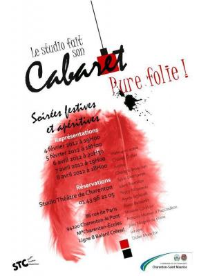 """soirée cabaret: """"Pure Folie!"""""""