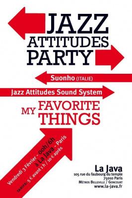 JAZZ ATTITUDES PARTY