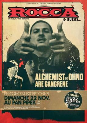 Rocca + Gangrene (The Alchemist & Ohno)