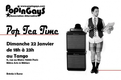 Pop Tea Time (Tea Dance Pop-Rock Indé)