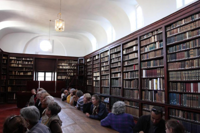 VISITE DE LA BIBLIOTHEQUE PATRIMONIALE