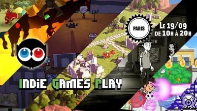 Indie Games Play in Paris