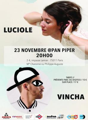 Luciole + Vincha