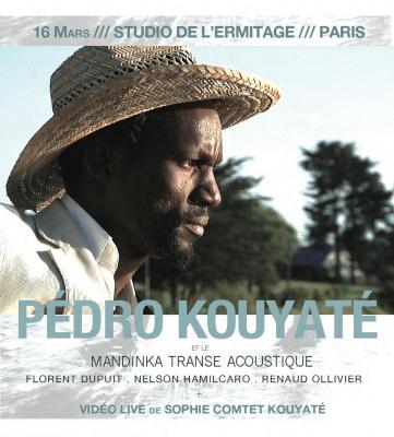 Concert Pédro Kouyaté et le Mandinka Transe Acoustique et Vidéo Live de Sophie Comtet Kouyaté