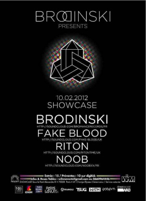 BRODINSKI presents FAKE BLOOD, RITON & NOOB