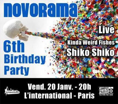 Novorama 6th Birthday Party
