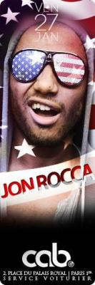 Jon Rocca @ Cab