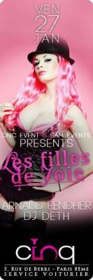 Les Filles De Joie -Ven27jan - Le CINQ