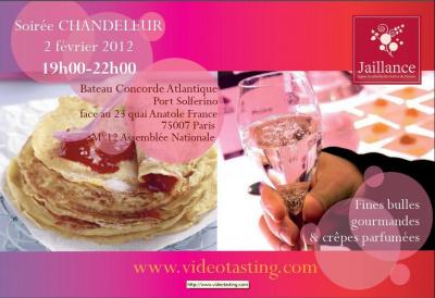 Soirée Chandeleur by Vidéo Tasting-Jaillance