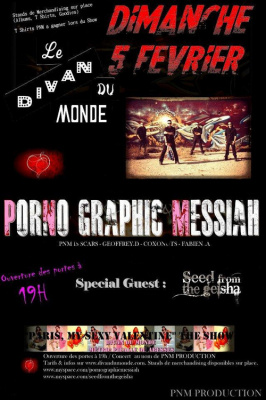 CONCERT PORNO GRAPHIC MESSIAH