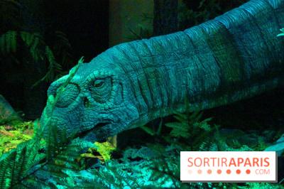 Autour des dinosaures au Palais de la Découverte