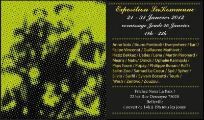 Exposition collective La Kommune
