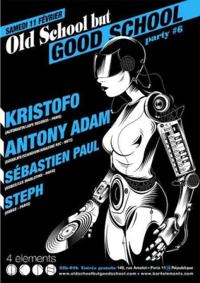 Old School But Good School party #6 avec Kristofo et Antony Adam
