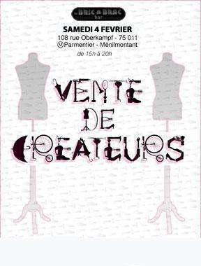 VENTE DE CREATEURS