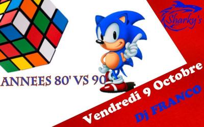 Soirée années 80/90