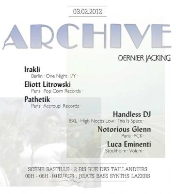 ARCHIVE // Dernier Jacking