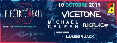 Electric Fall- Gala Supelec 2015