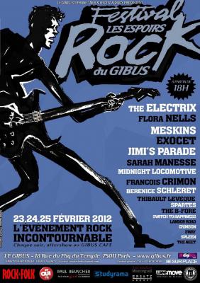 Les Espoirs Rock du Gibus - Edition 2012