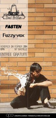 Sweet Guillotine + Fasten + Fuzzy Vox
