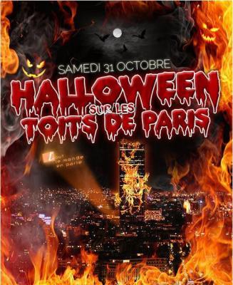 HALLOWEEN SUR LES TOITS DE PARIS (club et terrasse chauffée)
