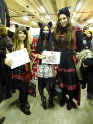 Paris Manga & Sci-Fi Show 2012, Free hugs