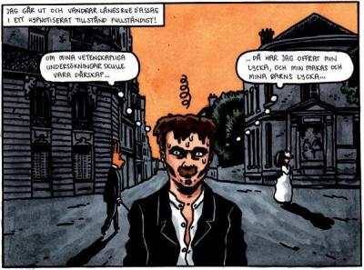 Sonate des spectres : Strindberg et la BD suédoise