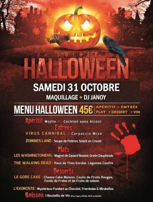 Soirée Halloween 2015 Restaurant Cuba Compagnie Paris 11 Bastille