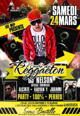 NOCHE DE REGGAETON! party + showcase