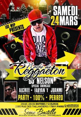 NOCHE DE REGGAETON! party + showcase