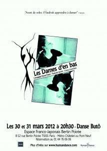 Les Dames d'en Bas - Danse Butô