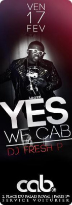 YES WE CAB WITH FRESH P