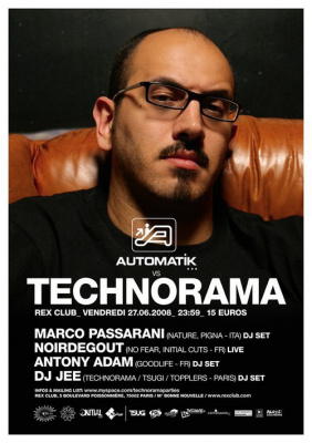 Soirée, Paris, Technorama, Automatik, Rex Club