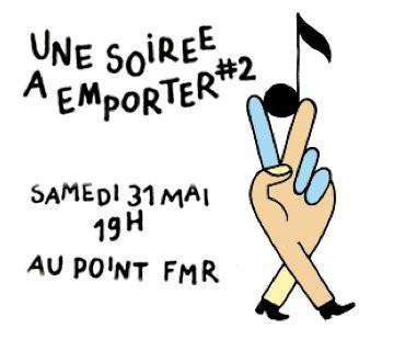 Soirée, Paris, Emporter, Point Ephémère