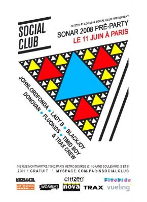 Soirée, Paris, Sonar, Citizen Social Club