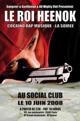 Soirée, Paris, Social Club, Rap, Roi Heenok, Dee Nasty