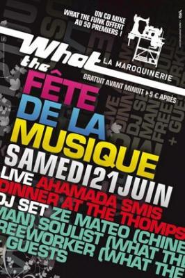 Soirée, Paris, What the funk, Maroquinerie,  Soulist
