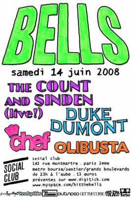 Soirée, Paris, Count of Monte Cristo, Duke Dumont, Chef, Olibusta