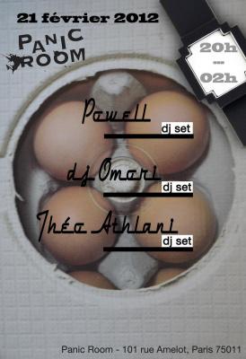 Powell x DJ Omori x Théo Athlani @Panic Room