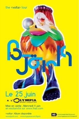 Concert, Paris, Björk, Volta, Olympia