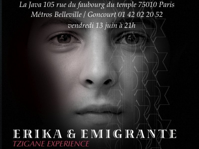Concert, Paris, Erika, Emigrante, Java