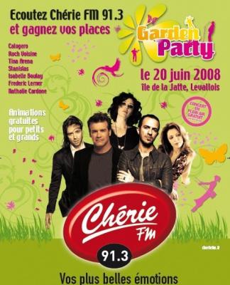 Concerts, Paris, Chérie FM, Ile de la Jatte, Garden party