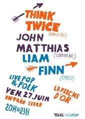 Concert, Paris, Think Twice, Flèche d'or