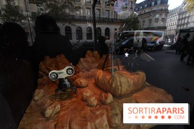Les vitrines de Noël des Galeries Lafayettes 2015