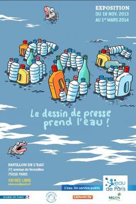 SOS, le dessin de presse prend l'eau ! au Pavillon de l'eau