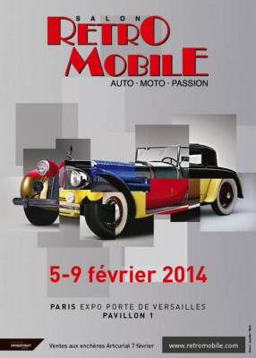 Places gagner pour le salon r tromobile 2015 la porte for Salon a porte de versaille